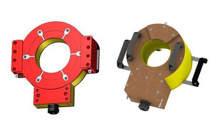 Calentamiento por inducción de rodamientos  de ruedas, ejes de ruedas,  montagje del eje de rueda