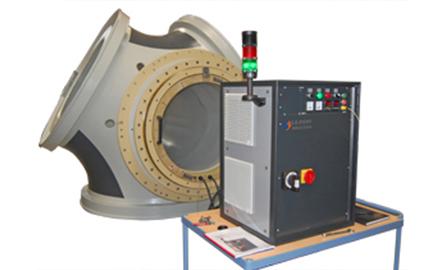 Calentamiento por inducción por rodamiento, bastidores, buje del rotor