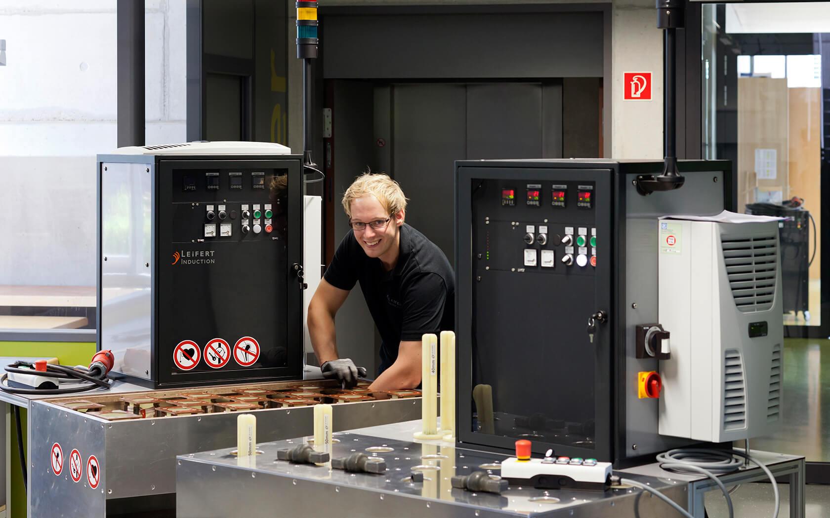 Mittelfrequenz Induktor und Generator