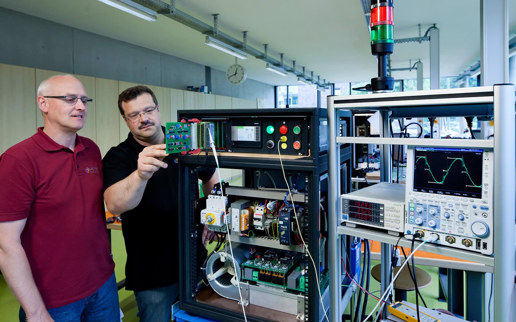 Mittelfrequenzinduktor, Mittelfrequenzgenerator